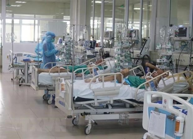 通过远程医疗咨询服务系统对1800例重症新冠肺炎病例进行远程救治 hinh anh 1