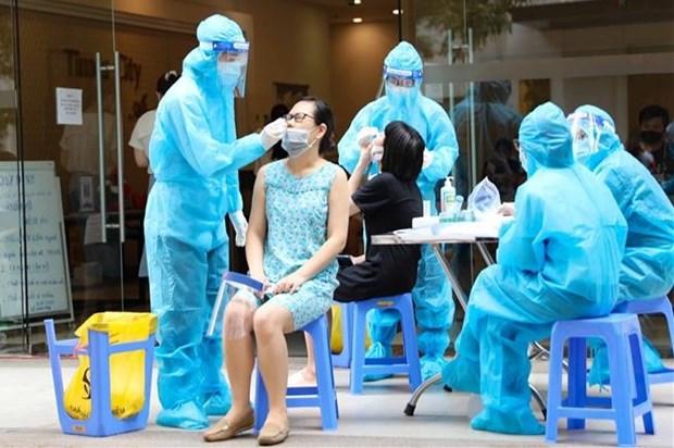 8月12日早上越南新增4642例确诊病例 新冠疫苗接种量超过1200万剂 hinh anh 1