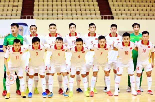 越南五人制足球队争取的目标是进入 2021 年国际足联五人制足球世界杯八强 hinh anh 1