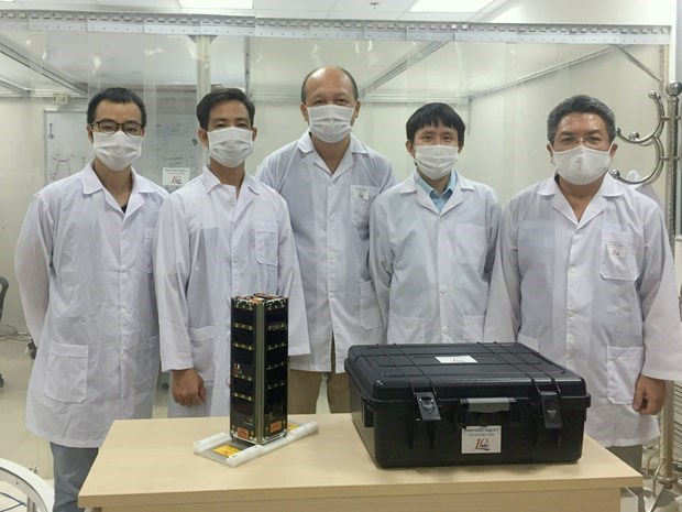 越南卫星将于2022年3月前由日本发射升空 hinh anh 2