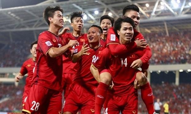 FIFA 8月排名:越南国足位居东南亚榜首 hinh anh 1