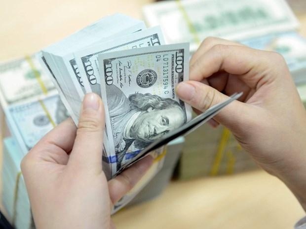 8月13日上午越盾对美元汇率中间价上调7越盾 hinh anh 1