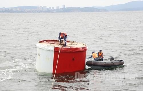 越南人民海军参赛队:海上训练科目在俄罗斯训练结果突出 hinh anh 2