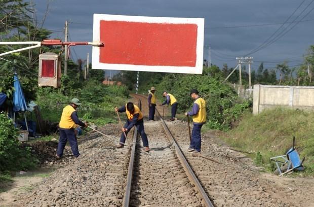北南铁路线多各升级改造项目竣工 hinh anh 1