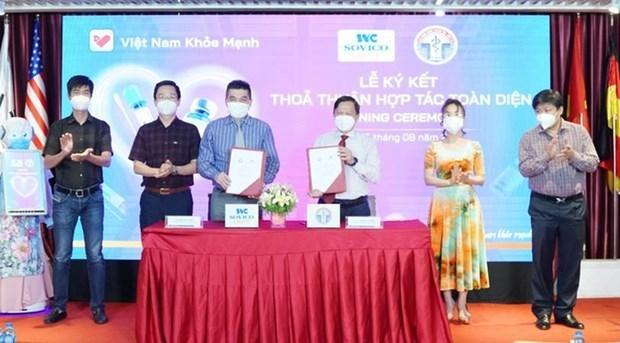 卫生部信息技术局与SOVICO集团签署合作备忘录 hinh anh 1