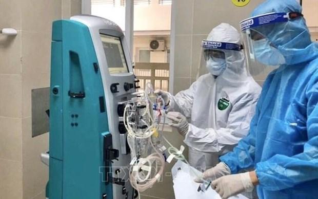河内全力以赴在新冠患者达4万名情况下满足医用供氧 hinh anh 1
