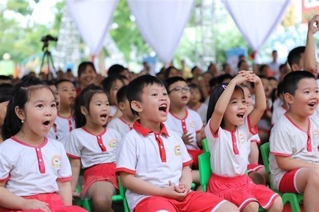 河内市学生最早于9月1日开始新学年 hinh anh 1