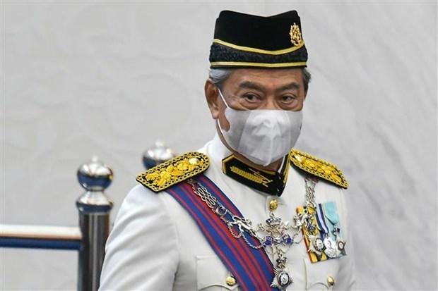 马来西亚最高元首指定穆希丁·亚辛先生为临时总理 hinh anh 1