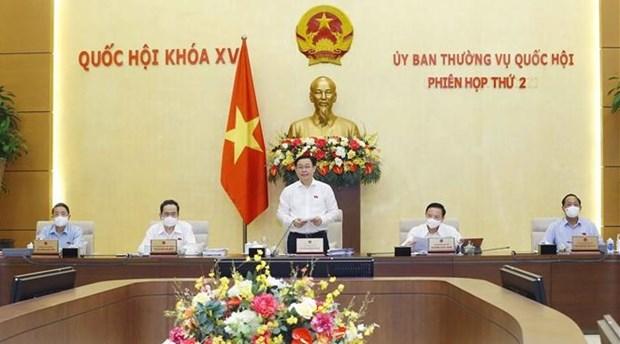 越南国会常务委员会第二次会议开幕 hinh anh 1