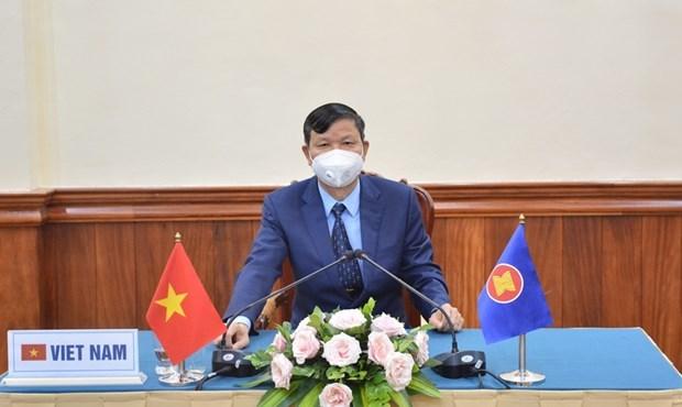 加强东盟在公共卫生安全领域的防务合作 hinh anh 1