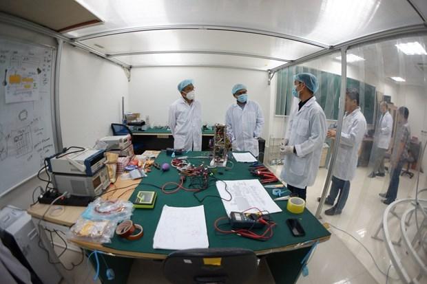纳龙微型卫星在日本完成最终测试 hinh anh 2