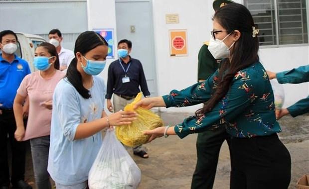 胡志明市建议政府援助28万亿越盾和14.2多万吨大米以照顾老百姓 hinh anh 1