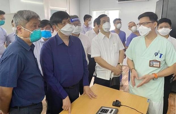 """胡志明市将新冠肺炎患者收治模式从 """"5层""""转为 """"3层"""" hinh anh 1"""