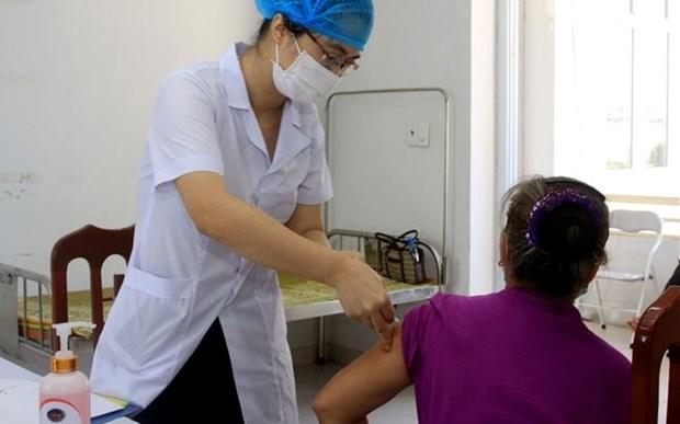 越南新冠疫苗Covivac二期临床试验在太平省启动 hinh anh 1