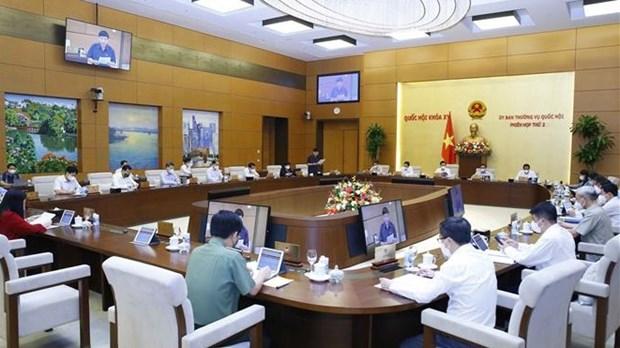 越南第十五届国会常委会第二次会议:确保国会第二次会议于2021年10月20日如期开幕 hinh anh 1