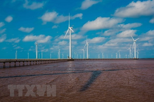 越南力争到2045年海上风力发电量达2.1万兆瓦 hinh anh 1