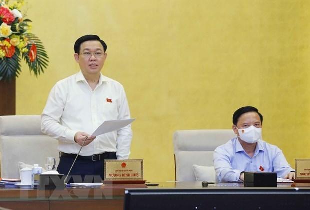 越南国会常委会第二次会议落幕 hinh anh 1