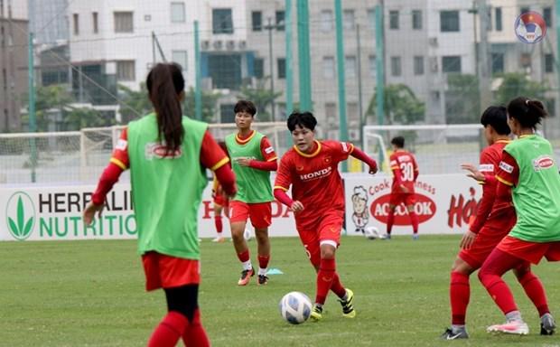 2022年女足亚洲杯预选赛:越南女足队将于9月23日对阵阿富汗队 hinh anh 1