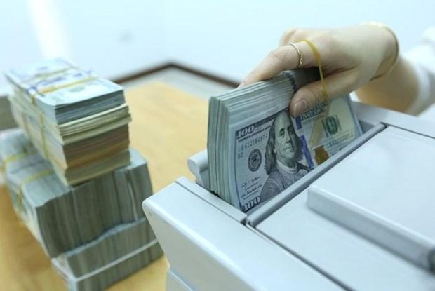 8月19日上午越盾对美元汇率中间价上调10越盾 hinh anh 1