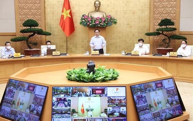 政府总理范明政:规划工作需先走一步 hinh anh 1