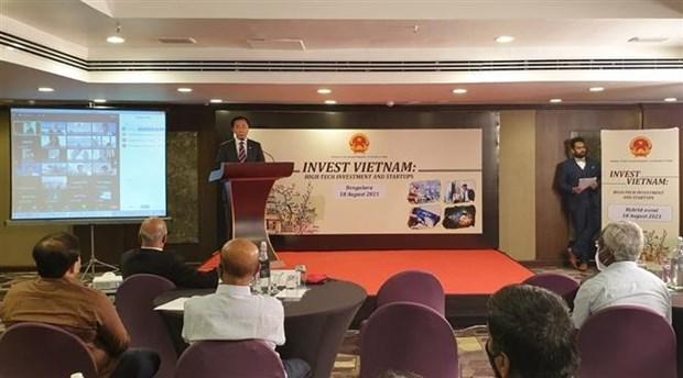越南与印度大力推进创业和改革创新合作 hinh anh 1