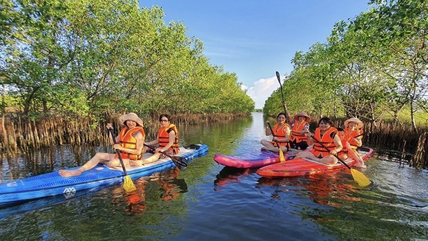 越南面向进入全球前50国旅游业竞争力名录 hinh anh 1