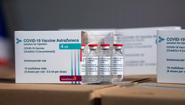 新冠肺炎疫情:再有超过120万剂阿斯利康疫苗运抵越南 hinh anh 1