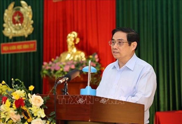 """范明政总理:朝着""""部精、省强、县全面、乡跟踪基层""""方向建设人民公安力量 hinh anh 2"""