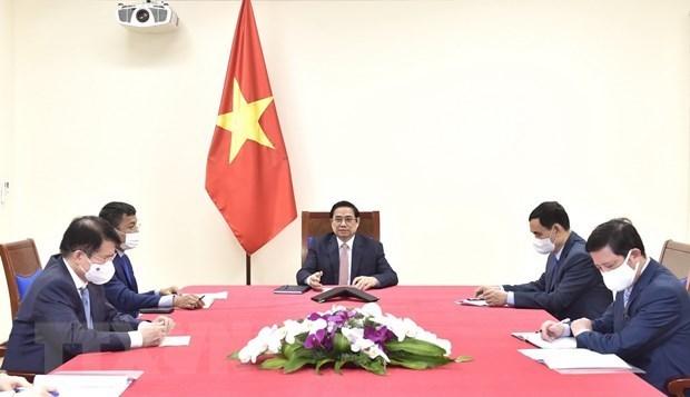 阿斯利康承诺向越南增加疫苗供应 hinh anh 2