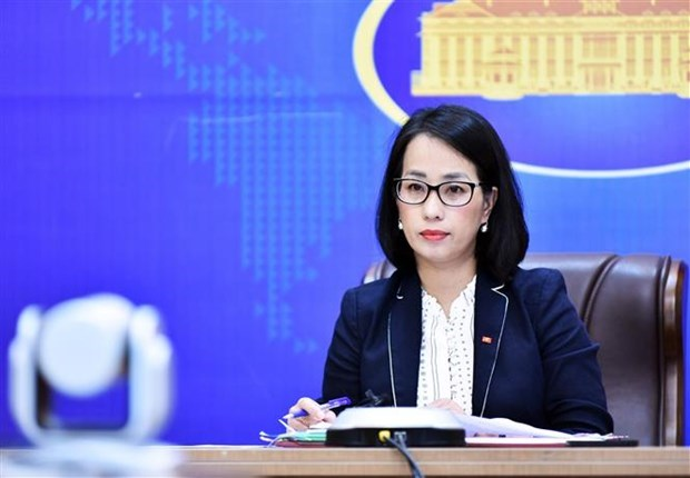 外交部例行记者会:越南承诺为应对气候变化作出不懈努力 hinh anh 1