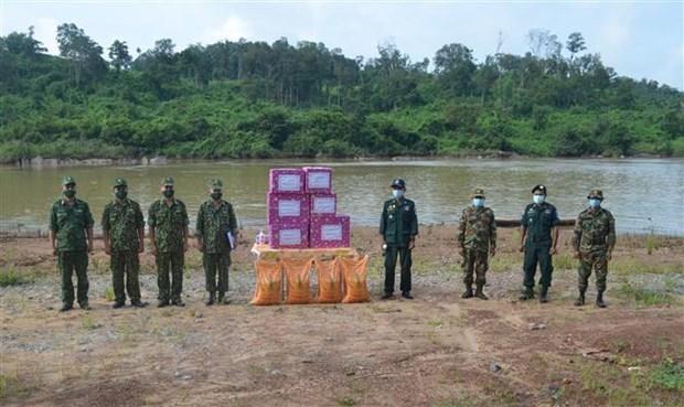 越南与柬埔寨加强边境保护合作力度 hinh anh 1