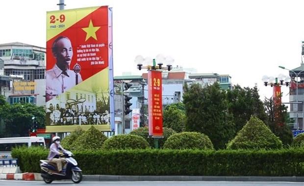 加拿大越南友好协会举行纪念八月革命和国庆76周年的研讨会 hinh anh 1