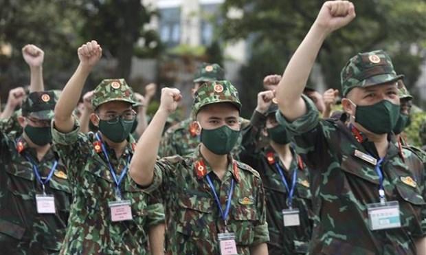 300个机动军医组继续前往南方支援新冠肺炎疫情防控工作 hinh anh 1