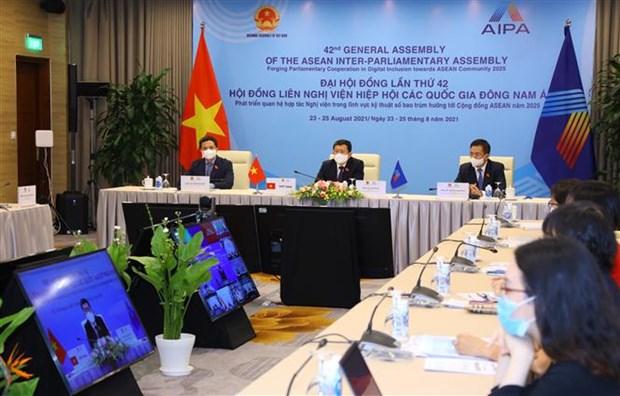 AIPA-42:加强合作完善网络安全的法律框架 hinh anh 1