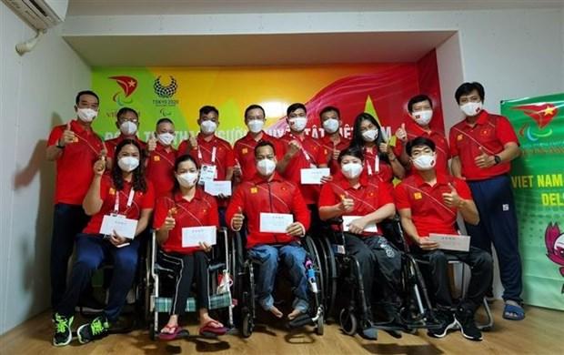 2020年东京残奥会:越南运动员已做足赛前准备 hinh anh 1