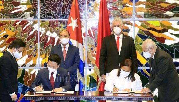 越南与古巴加强信息与传媒合作关系 hinh anh 1