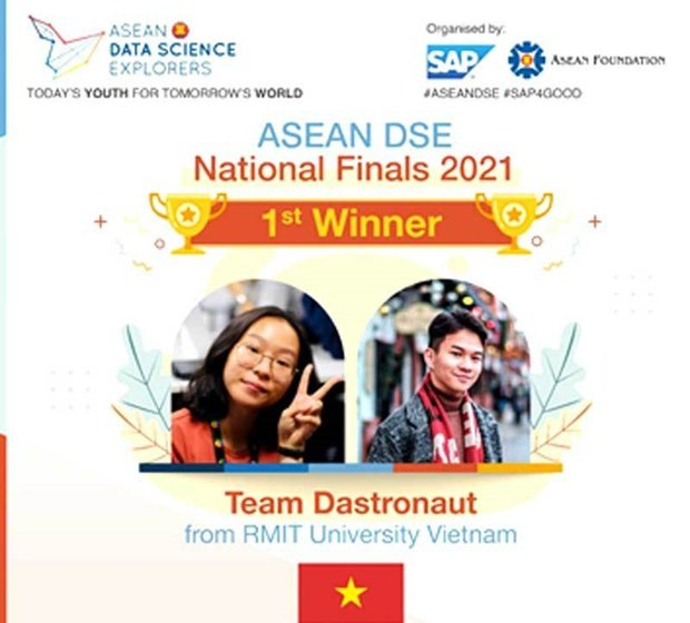 RMIT 大学代表越南出席东盟数字科学探索者竞赛决赛 hinh anh 2