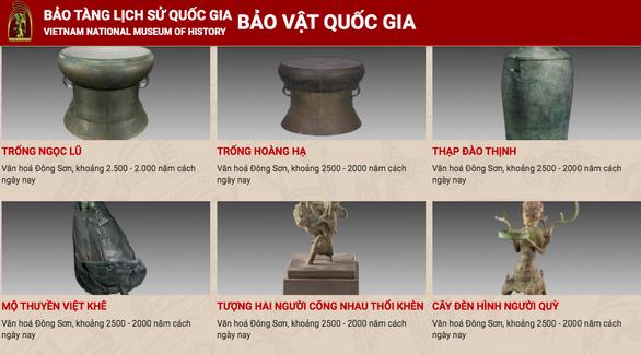 越南国家历史博物馆加速数字技术应用转型 hinh anh 1