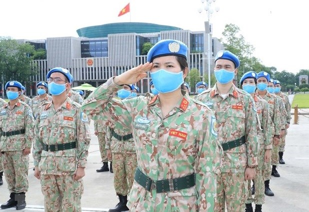 越南积极为应联合国要求执行维和任务做好准备 hinh anh 1