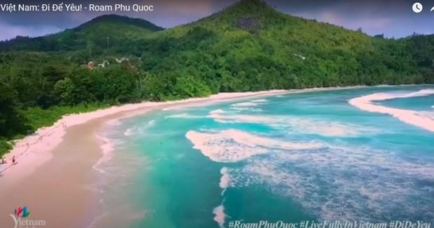 宣传富国岛旅游的视频正式亮相Youtube hinh anh 1