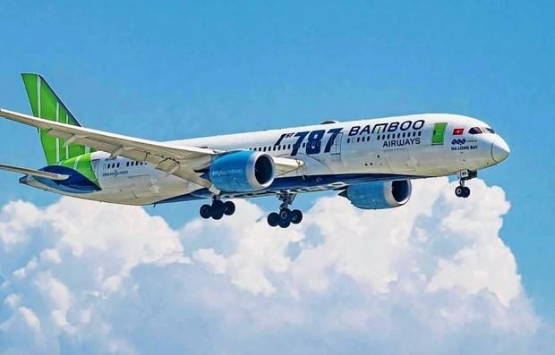 越南国家主席阮春福出席越竹航空与美国通用电气航空价值达20亿美元的合作协议签署仪式 hinh anh 1