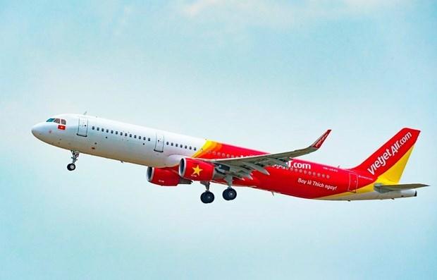 越南国家主席阮春福出席越捷航空与美国CFM国际价值2.6亿美元的合同签字仪式 hinh anh 1
