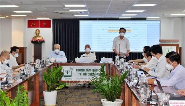 新冠肺炎疫情:胡志明市开展总经费为7.3万亿越盾的第三个扶持计划 hinh anh 1