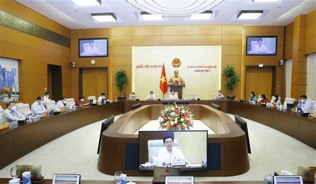 越南第十五届国会常委会第三次会议:审议《机动警察法(草案)》 hinh anh 1