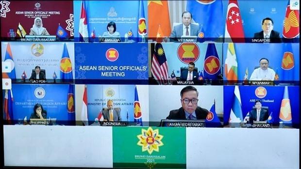 东盟联合磋商会:核查第38、39届东盟峰会和相关会议前准备工作 hinh anh 1