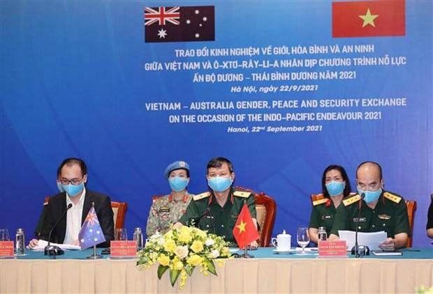 为提升妇女在全球和平和安全事务的参与度创造便利条件 hinh anh 3