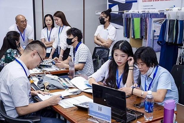 促进越南和中国台湾的纺织工业贸易对接 hinh anh 1