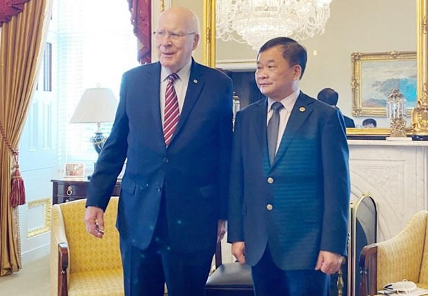 越南和美国进一步加强解决战争遗留问题的合作 hinh anh 1
