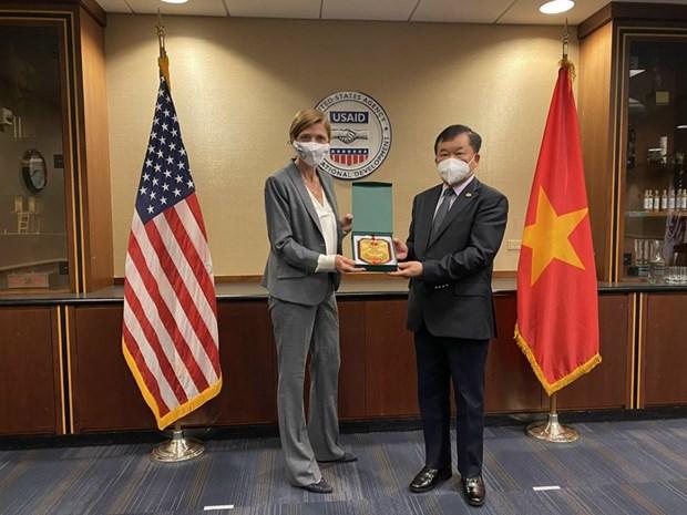 越南和美国进一步加强解决战争遗留问题的合作 hinh anh 2