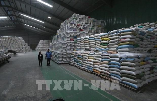 继续向胡志明市发放逾56555吨大米援助受疫情影响的民众 hinh anh 1